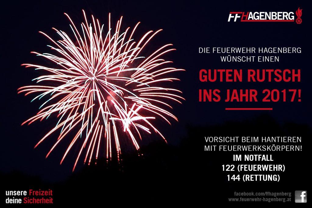 Frohes neues Jahr! - Freiwillige Feuerwehr Hagenberg