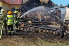 Großbrand auf Bauernhof im Mühlviertel