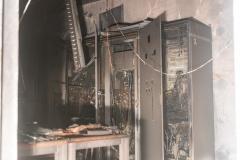 Großeinsatz nach Blitzeinschlag in E-Werk