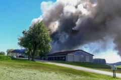 Großbrand in Tragwein
